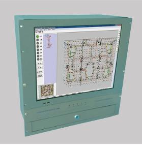 AY8000型万博mantex体育控制室图形显示装置
